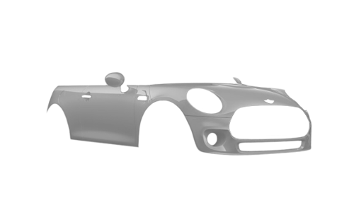 Цвета кузова One Cabrio